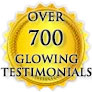 Over 700 Glowing Reviews